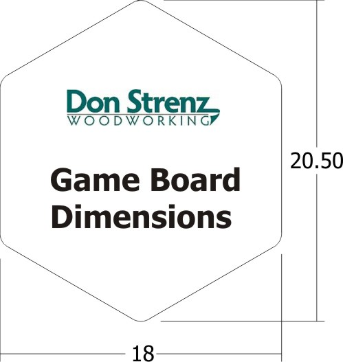 Aggravation Game Board Dimensions