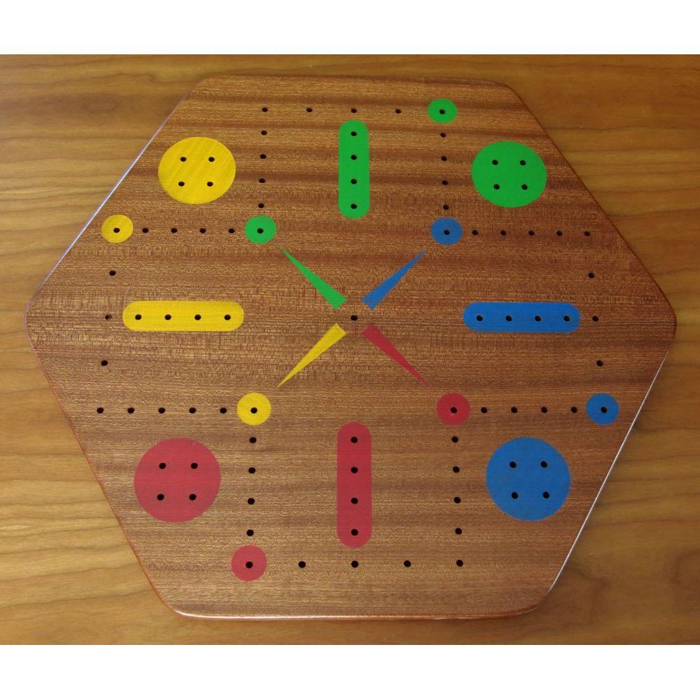 Sepele wood fast track aggravation game board with pegs board with pegs sepele fast track 4 player maxwellsz