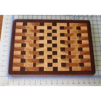 "16""x11"" End Grain Cutting Board 02"
