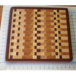 "16""x14"" End Grain Cutting Board"