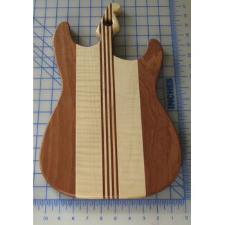 Strat Guitar Cutting Board
