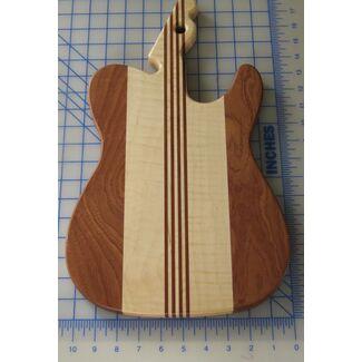 Tele Guitar Cutting Board