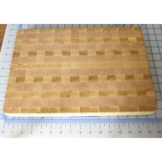 "15""x11"" End Grain Cutting Board"