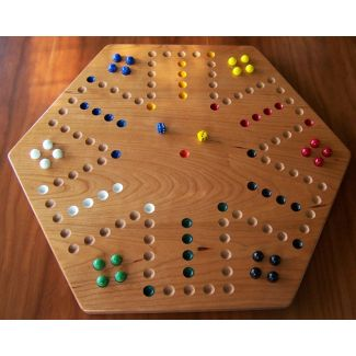 Cherry Aggravation Board Game (with Marbles)