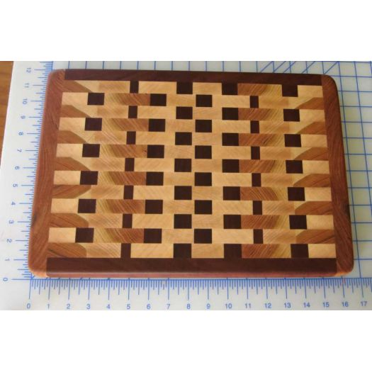 "16""x11"" End Grain Cutting Board"