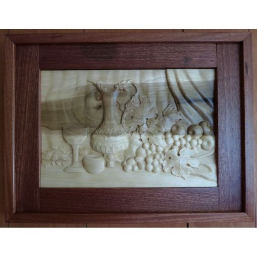 Framed 3d Carving