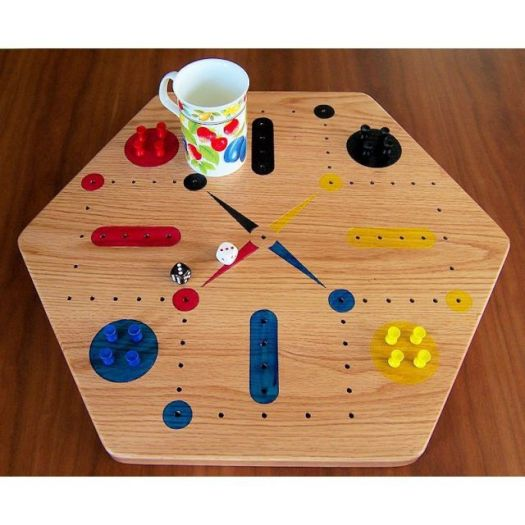 Oak Fast Track / Aggravation  Game - Four Player