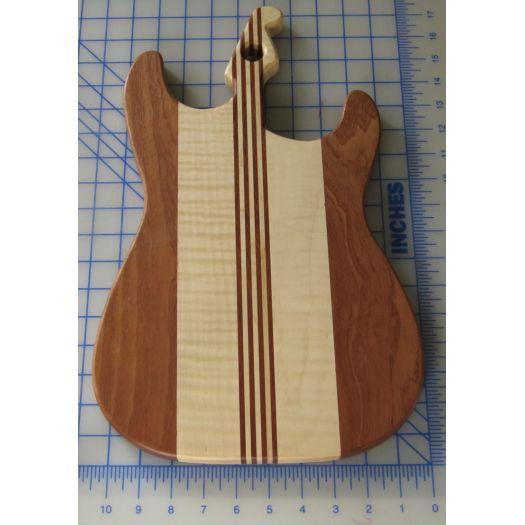 Strat Guitar Cutting Board