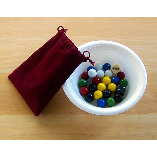 Extra Marbles For Aggravation Games