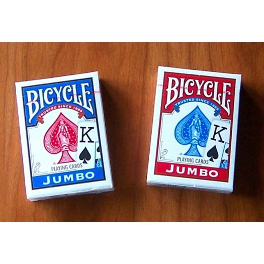 Playing Cards - Bicycle Jumbo Print