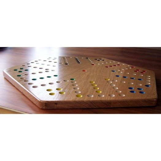Oak Aggravation Board Game - semi-gloss finish