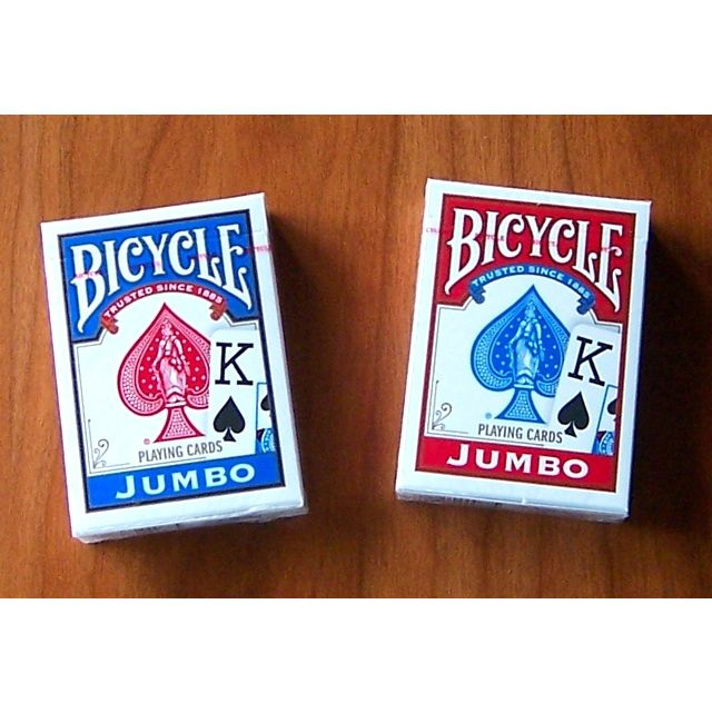 playing cards bicycle jumbo print. Black Bedroom Furniture Sets. Home Design Ideas