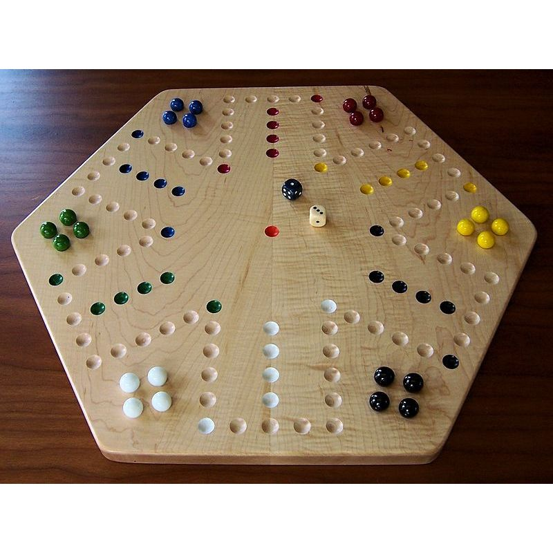 Curly Maple Aggravation Board Game